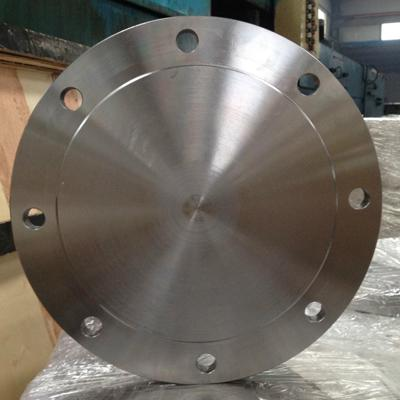 A105 Carbon Blind Flange 400NB CL300 Forged Painting