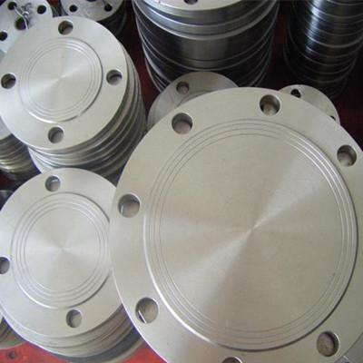 ASTM A350 LF2 CL1 Blind Flange 6 Inch CL150 RF Galvanized