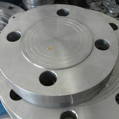 A105 Plate Flange DN50 PN40 Forged Black Painting/Oiled