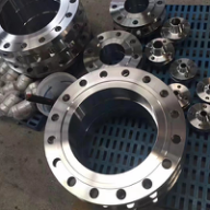 AISI 316 Slip On Steel Pipe Flange Forged PN16 DN50