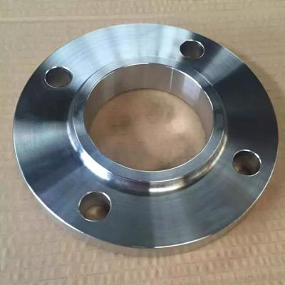 A105 Slip on Flange Forged DN50 PN10 RF Black Painting Treatment