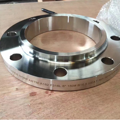 ASTM A182 SO RF Flange ASME B16.5 Forged 6 Inch Class 150