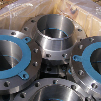 6 Inch SCH40 Class150 ASTM A105 RF Welding Neck Flange ASME B16.5