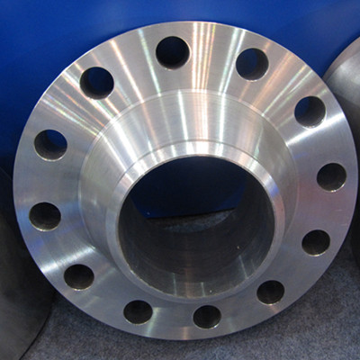 A694 F70 Weld Neck Flange Stainless 6 Inch SCH XS Class 600 RTJ Black