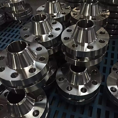 ASTM A182 Gr.F5 WN RF Flange Forged 8IN 300LB SCH 40 Raised Face