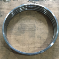 Nitrile Butyl Rubber Gasket ASME B16.21 Flat Ring DN350