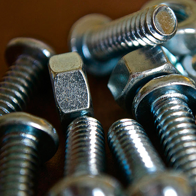 A193 B7 Bolt with A194 2H Nut 1/2 Inch X 70mm Zinc Plated
