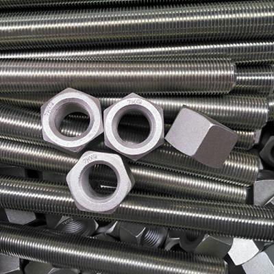 ASTM A193 B7 & A194 2H Full Thread Stud Bolt 1/2 Inch 65mm Zinc Coated