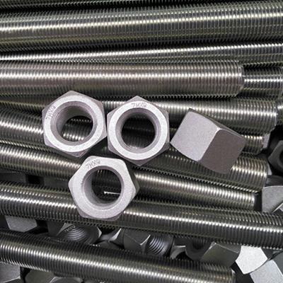 ASTM A193 B7 & A194 2H Full Thread Stud Bolt 1/2 Inch 65mm Zinc Coated