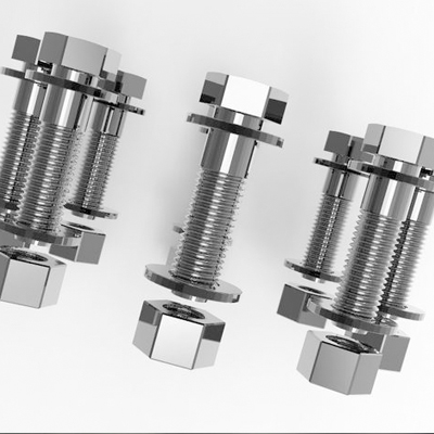 UNC A193-B7 Stud Bolts with A194-2H Heavy Hex Nuts