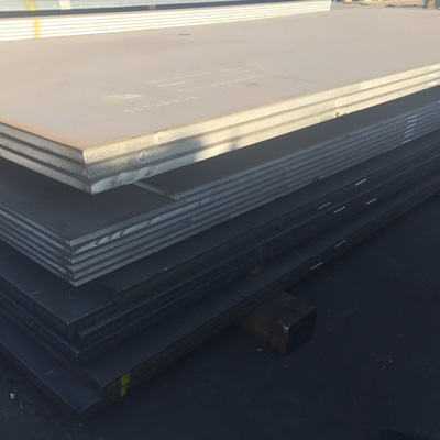 S355NL Carbon Steel Plate EN10025 80mm x 2400mm x 8003mm Painting