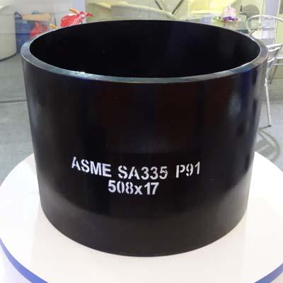 A335 P91 Seamless Pipe, 20 Inch, SCH40, ASME B36.10, 6M