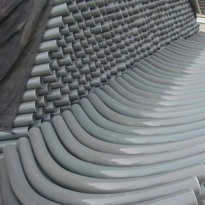 ASTM A234 WP9 Alloy Steel Bend 5 Inch 6.55mm SR 180° Hot Rolled