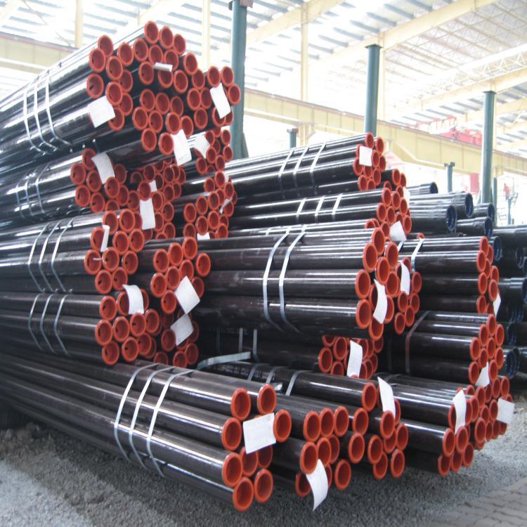 DIN 17175 St 52 Alloy Steel Pipe Seamless NBK 88.9mm x 5.16mm PE