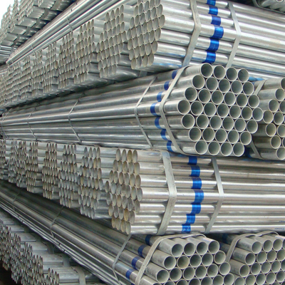 A53 Gr.A Galvanized Seamless Pipe Hot Rolled 60 x 1.5mm THK 230g/m2
