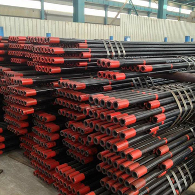 API 5CT K55 Seamless Steel Pipe 42.2 x 6.35mm Black