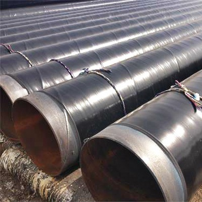API 5L Carbon SMLS Pipe A106 Gr.B DN400 BE/PE 3LPE Coating