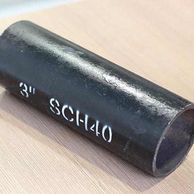 API 5L Grade B Carbon Seamless Pipe 3 Inch SCH 40 5 8