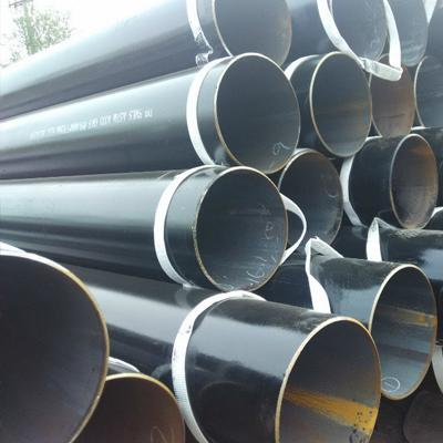 ASTM A333 Grade 6 LTCS Pipe 32 Inch SCH 30 Hot Rolled Black Painting
