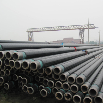DIN 30670 Seamless Steel Pipe API 5L X52 PSL1 14 Inch SCH 40 3LPE