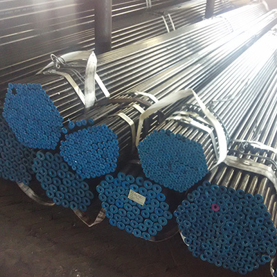 STPG370 Seamless Carbon Pipe 33mm WT 7mm Oiled