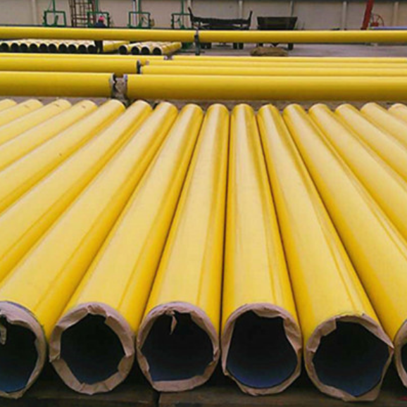 API 5L X52 ERW Steel Pipe 4 Inch SCH STD FBE Coating