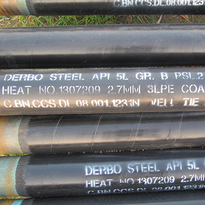 ASTM A106B Carbon Steel Pipe SCH 40 THK 50MM Hot Rolled
