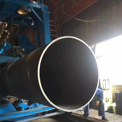 S235JRH EN 10217-1 Spiral Welded Steel Pipes Beveled End