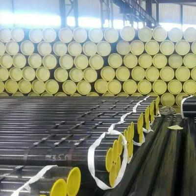 X42 API 5L Welded Carbon Steel Pipe ERW 4 Inch SCH 40 Painting