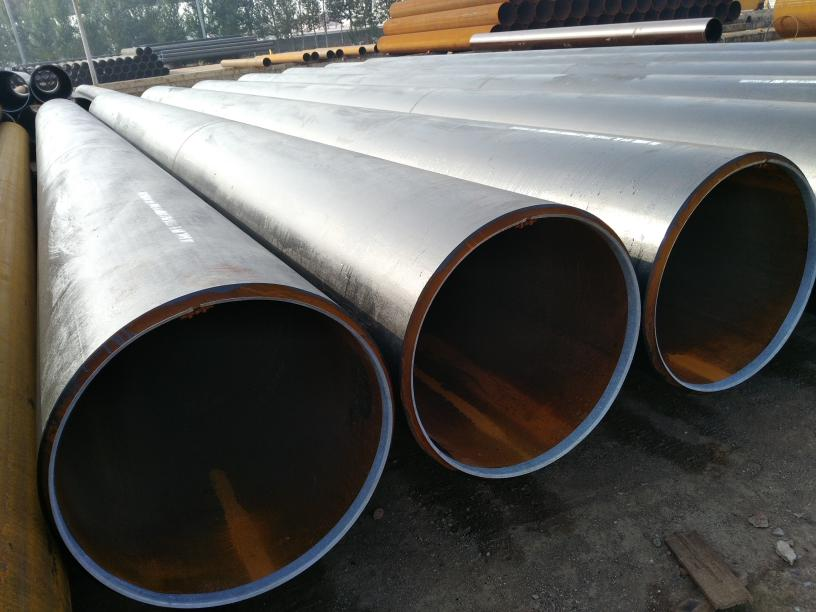 X52 API 5L LSAW Carbon Steel Pipe 10 Inch THK STD Oiled