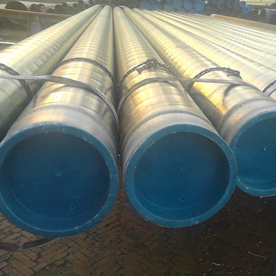 ERW Carbon Steel Pipe, ST37, 3LPE, DIN 30670, OD 457 MM, THK 15 MM