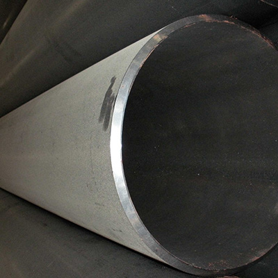 Welded Black Steel ERW Pipe, ASTM A53 GR.A, 16 Inch, BE Ends