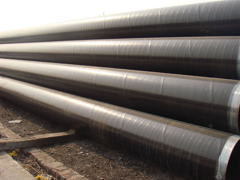API 5L X 65 Coating Steel Pipe 20 Inch WT 16.3mm SSAW BE