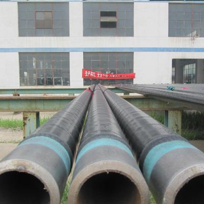 DIN30670 Carbon ERW 3LPE Pipe API 5L Gr.B 24 Inch Sch40