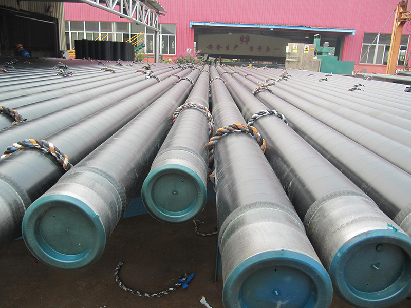 ISO 15156 Coating Steel Pipe Hot Rolled Beveled End