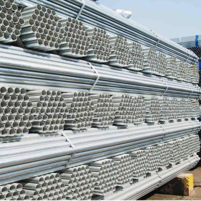 3 Inch Galvanized Steel Pipe, ASTM A53 Gr.B, Hot Rolled, SCH 20, BE