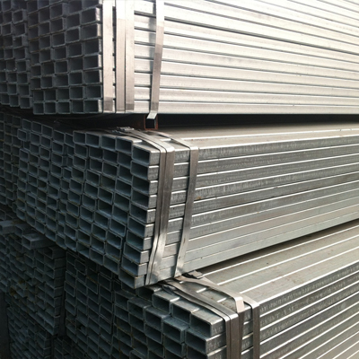 A53 Gr.B Galvanised Square Tubes ASME A153 Hot Rolled