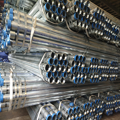 A53 Gr.B Hot Dipped Galvanized Pipe 4 Inch SCH 40