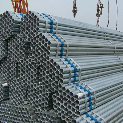 A53 Grade B Galvanized Carbon Steel Pipe Hot Rolled SCH 40 2 Inch