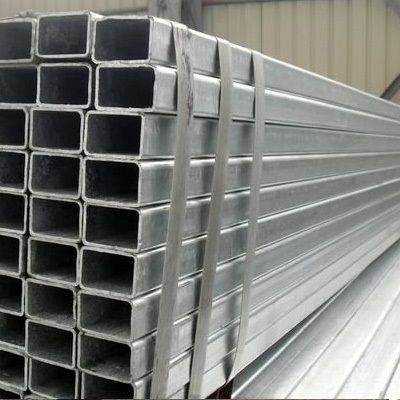 BS1387 Galvanized Square Pipe 2 Inch WT 1.6mm BE/PE Ends