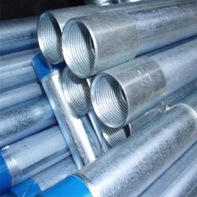EN 10217 P235 TR1 Galvanized Pipe 1 1/2 Inch 2.3mm BSPT Threaded