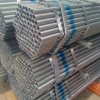 Galvanized Carbon Steel Pipe A53 Gr.B 33.4mm x 3.38mm x 6m Plastic Cap