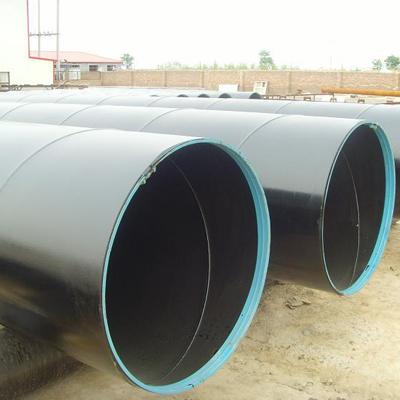 ASTM A53 Gr.B SSAW Pipe 30 Inch SCH STD PE