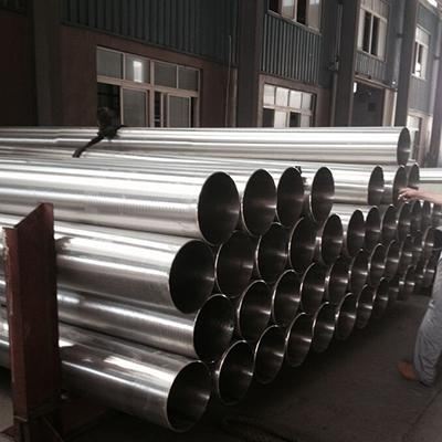 A358 316 & 316L Stainless Steel Welded Pipe 18 Inch SCH 20S Polished
