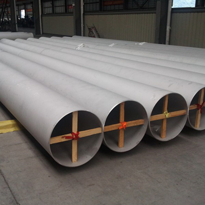 A358 Gr.321 CL1 EFW Steel Pipe 28 Inch THK 17.48mm Pickling