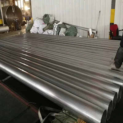 A554 MT304 Stainless Steel Welded Tube 168 x 3.0mm Polished