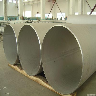 SA312 TP316L Welded Steel Pipe 36 Inch SCH 40S Polished