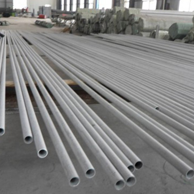 SMO 254 Stainless Steel Pipe Seamless OD 33.4mm 14 SWG Pickling PE