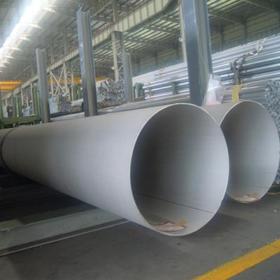 Welded Stainless Steel Pipe 6 Inch Sch 40S ASTM A312 TP310 Cold Drawn