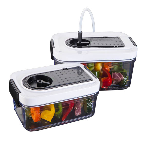Vacuum Sealer Canister Can075150, Black